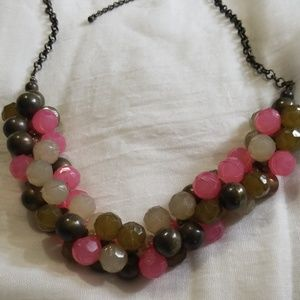 Fashion bauble necklace